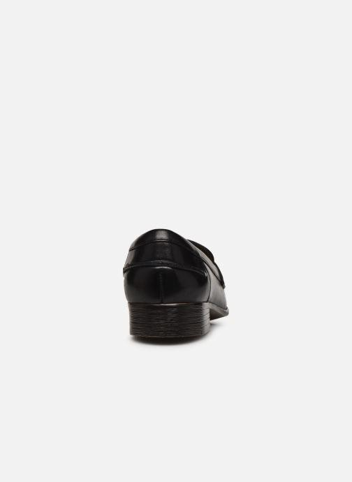 Mocassins Clarks Hamble Loafer Noir vue droite