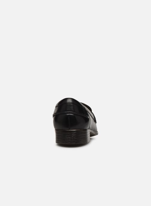 Mocasines Clarks Hamble Loafer Negro vista lateral derecha