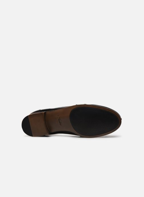 Mocassins Clarks Hamble Loafer Noir vue haut