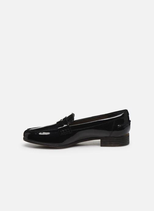 Mocasines Clarks Hamble Loafer Negro vista de frente