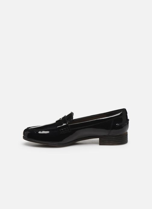 Mocassins Clarks Hamble Loafer Zwart voorkant