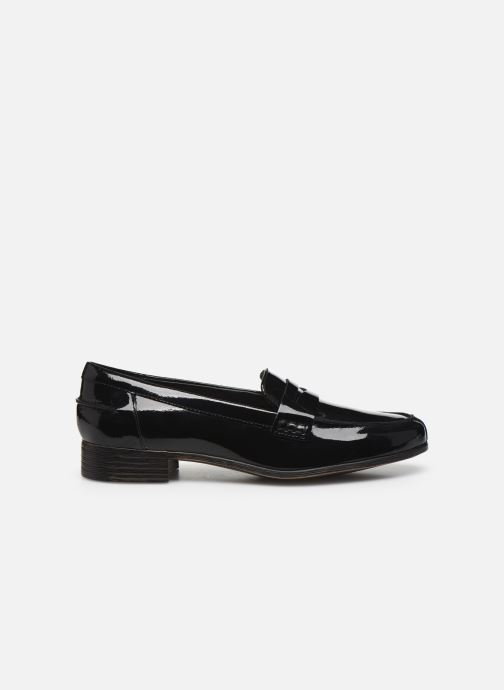 Mocassins Clarks Hamble Loafer Zwart achterkant
