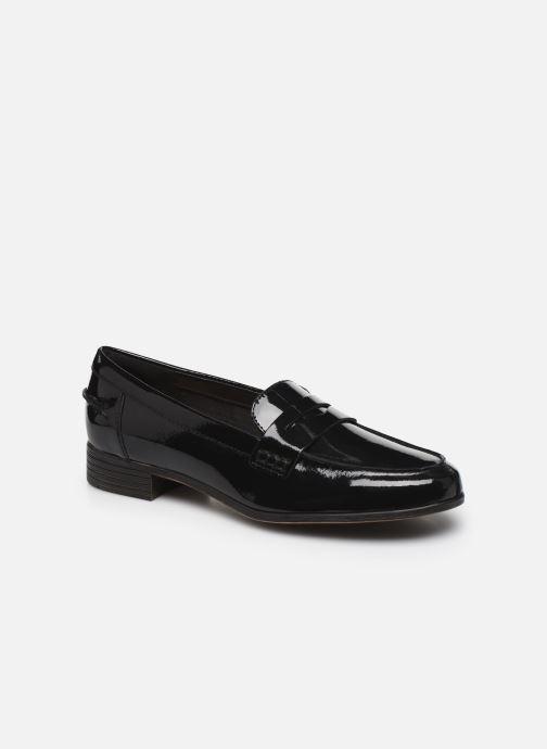 Mocassins Clarks Hamble Loafer Zwart detail