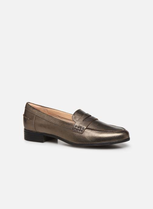 Mocassins Clarks Hamble Loafer Zilver detail