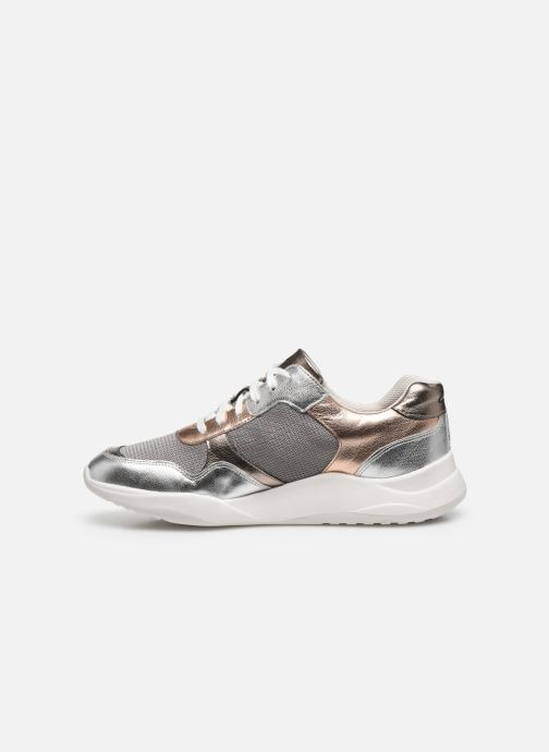 Sneakers Clarks Sift Lace Argento immagine frontale