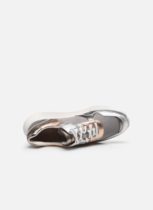 Sneakers Clarks Sift Lace Argento immagine sinistra