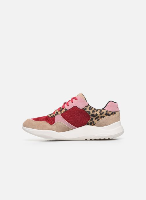Sneakers Clarks Sift Lace Roze voorkant