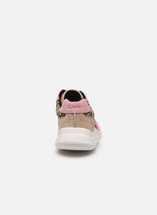 Sneakers Clarks Sift Lace Roze rechts