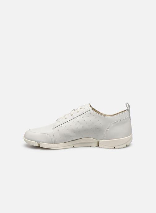 Sneakers Clarks TriAmelia Edge Bianco immagine frontale