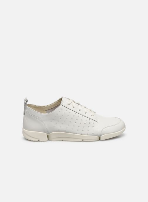 Sneakers Clarks TriAmelia Edge Bianco immagine posteriore