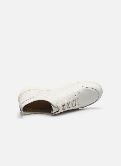 Sneakers Clarks TriAmelia Edge Bianco immagine sinistra