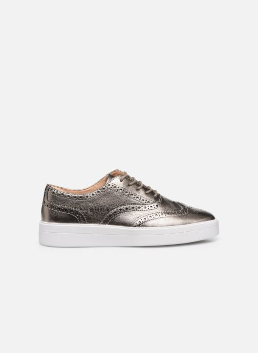 Sneakers Clarks Hero Brogue. Argento immagine posteriore