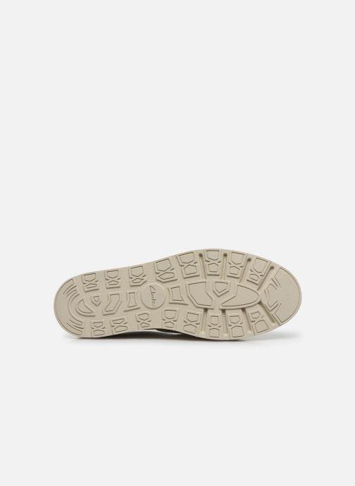 Zapatos con cordones Clarks Trace Walk Blanco vista de arriba