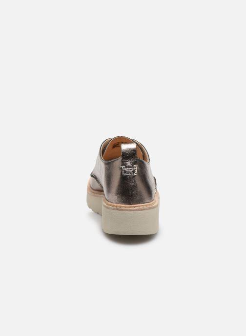 Chaussures à lacets Clarks Trace Walk Argent vue droite
