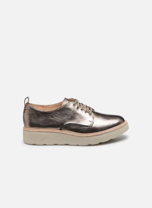Chaussures à lacets Clarks Trace Walk Argent vue derrière