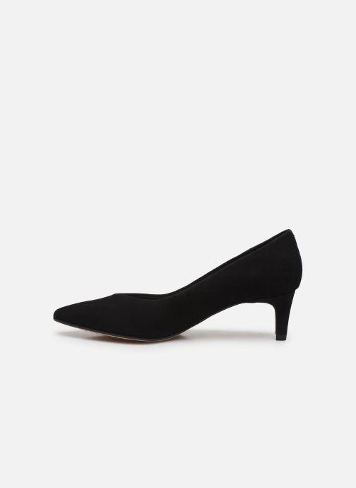 Zapatos de tacón Clarks Laina55 Court Negro vista de frente