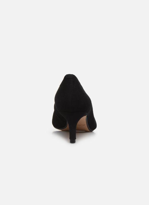 Zapatos de tacón Clarks Laina55 Court Negro vista lateral derecha