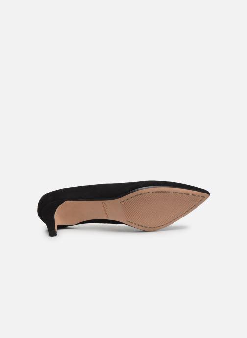 Zapatos de tacón Clarks Laina55 Court Negro vista de arriba