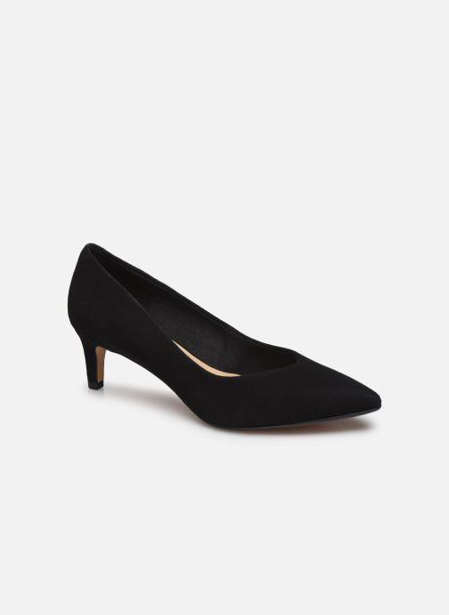 Zapatos de tacón Clarks Laina55 Court Negro vista de detalle / par