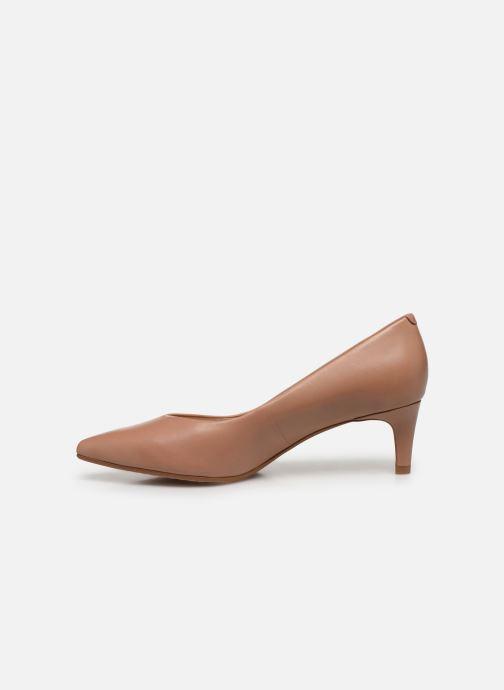 Zapatos de tacón Clarks Laina55 Court Rosa vista de frente