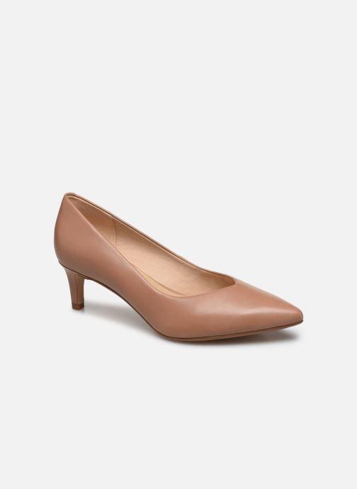 Zapatos de tacón Clarks Laina55 Court Rosa vista de detalle / par