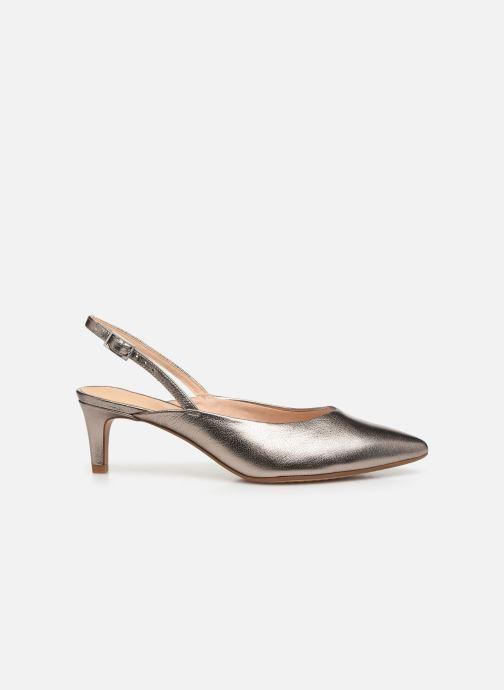 Zapatos de tacón Clarks Laina55 Sling Plateado vistra trasera