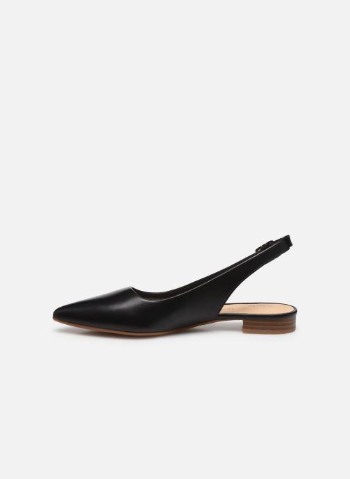 Zapatos de tacón Clarks Laina15 Sling Negro vista de frente