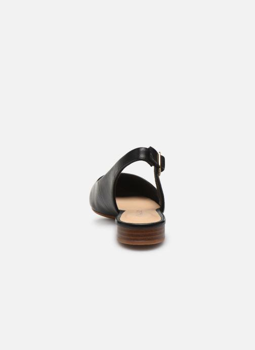 Zapatos de tacón Clarks Laina15 Sling Negro vista lateral derecha