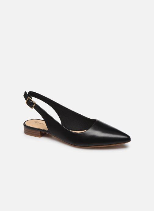 Zapatos de tacón Clarks Laina15 Sling Negro vista de detalle / par