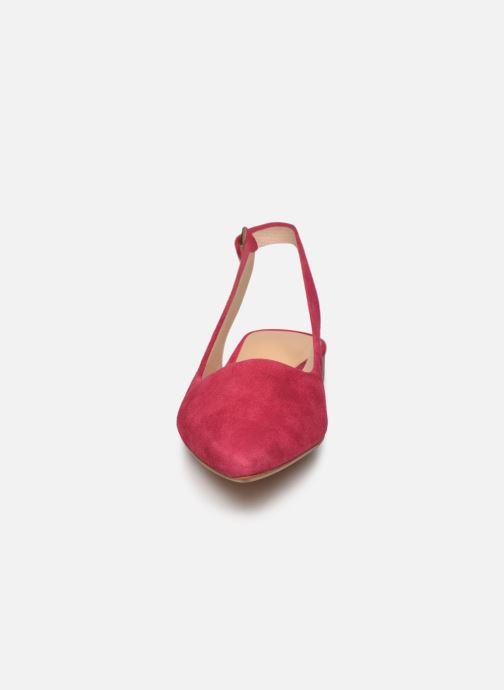 Zapatos de tacón Clarks Laina15 Sling Rosa vista del modelo