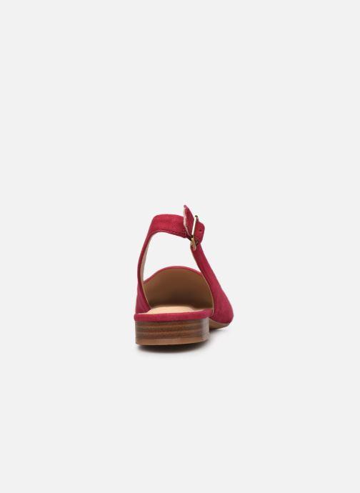 Zapatos de tacón Clarks Laina15 Sling Rosa vista lateral derecha