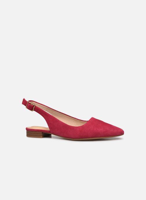 Zapatos de tacón Clarks Laina15 Sling Rosa vistra trasera