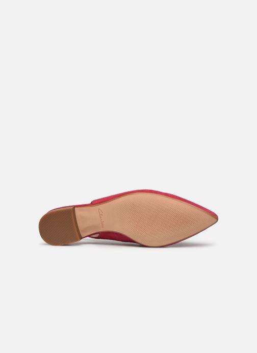 Zapatos de tacón Clarks Laina15 Sling Rosa vista de arriba