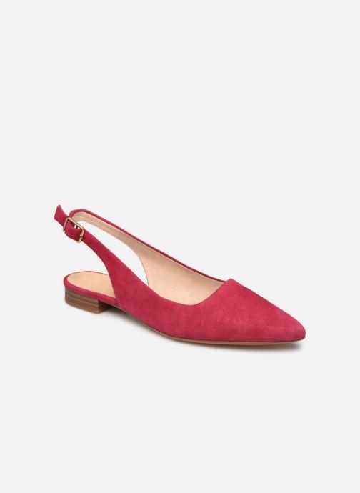 Zapatos de tacón Clarks Laina15 Sling Rosa vista de detalle / par
