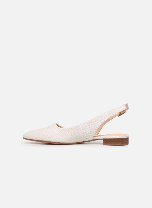 Zapatos de tacón Clarks Laina15 Sling Blanco vista de frente