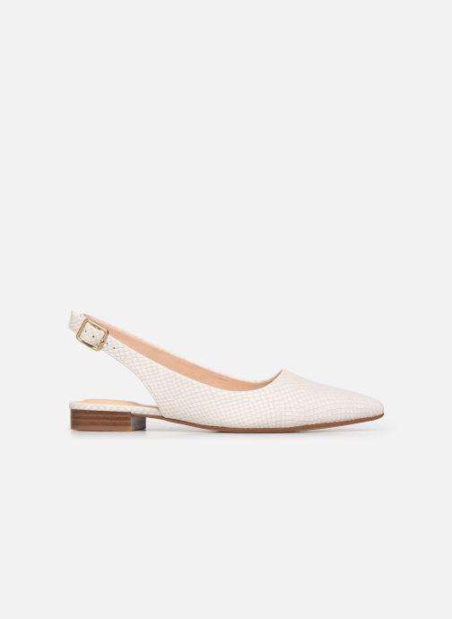 Zapatos de tacón Clarks Laina15 Sling Blanco vistra trasera