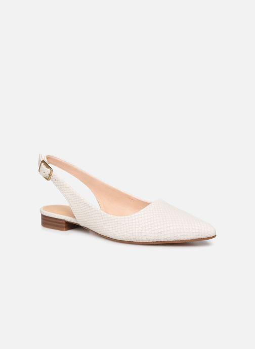 Zapatos de tacón Clarks Laina15 Sling Blanco vista de detalle / par