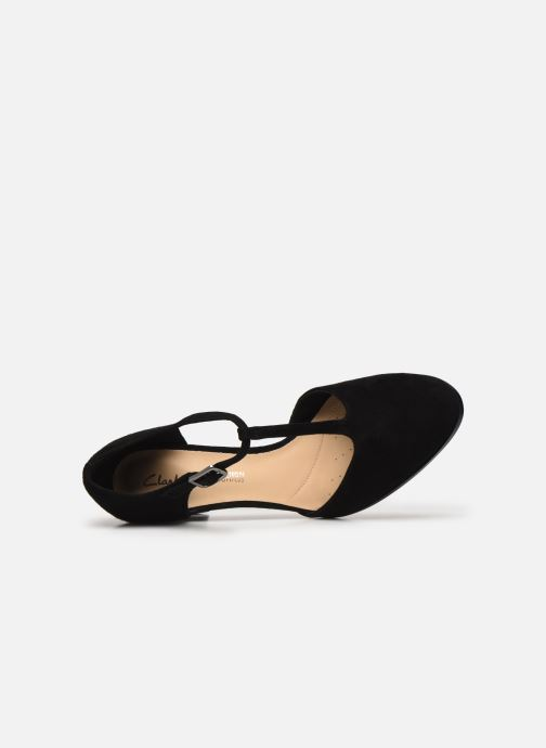 Chaussure Femme Grande Remise Clarks Kaylin85 TBar Noir Escarpins 432393