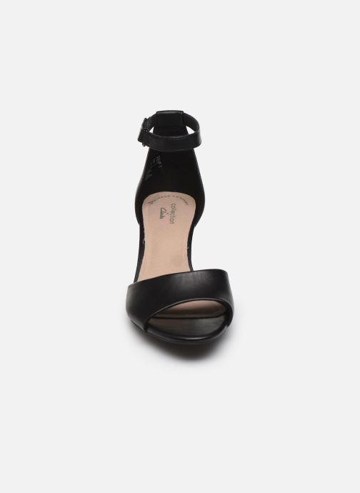 Sandales et nu-pieds Clarks Alice Greta Noir vue portées chaussures