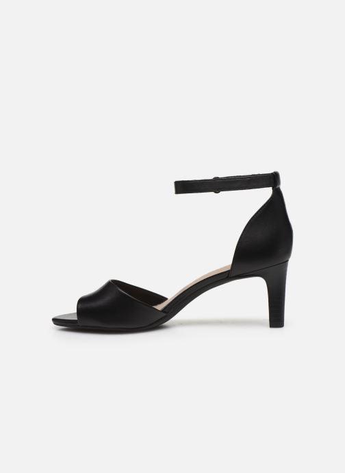 Sandales et nu-pieds Clarks Alice Greta Noir vue face