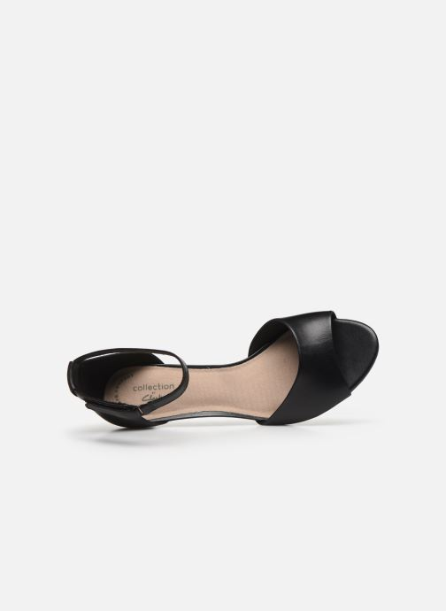 Sandales et nu-pieds Clarks Alice Greta Noir vue gauche
