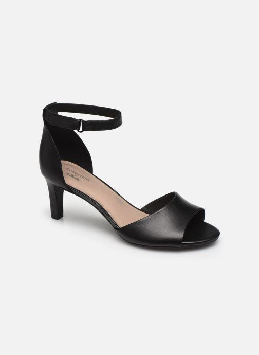 Sandales et nu-pieds Clarks Alice Greta Noir vue détail/paire