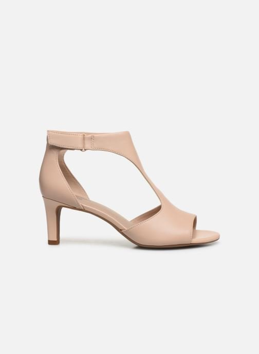 Sandales et nu-pieds Clarks Alice Flame Rose vue derrière