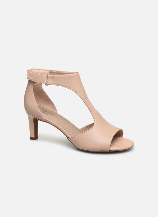 Sandales et nu-pieds Clarks Alice Flame Rose vue détail/paire