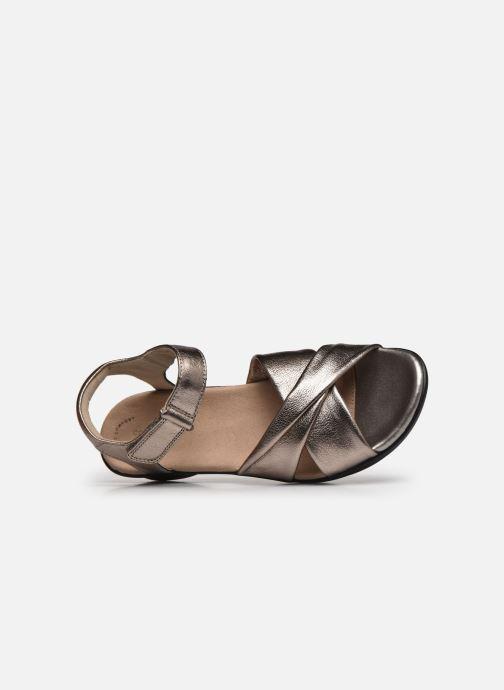 Sandales et nu-pieds Clarks Loomis Chloe Argent vue gauche