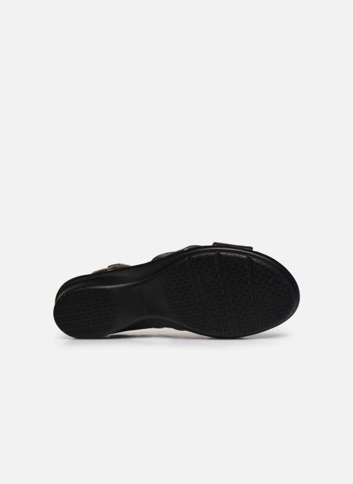 Sandales et nu-pieds Clarks Loomis Chloe Argent vue haut
