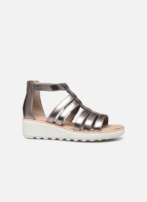 Sandales et nu-pieds Clarks Jillian Nina Argent vue derrière