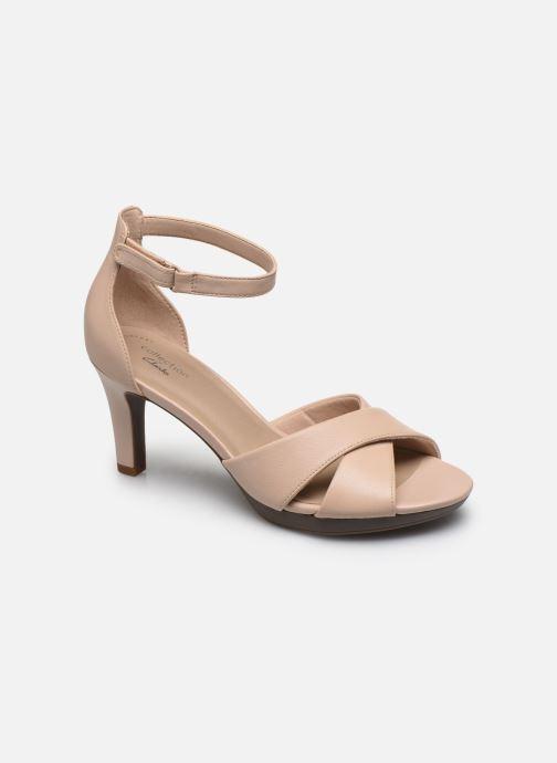 Sandales et nu-pieds Clarks Adriel Cove Rose vue détail/paire