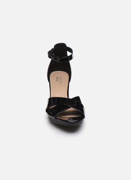 Sandalen Clarks Adriel Cove schwarz schuhe getragen