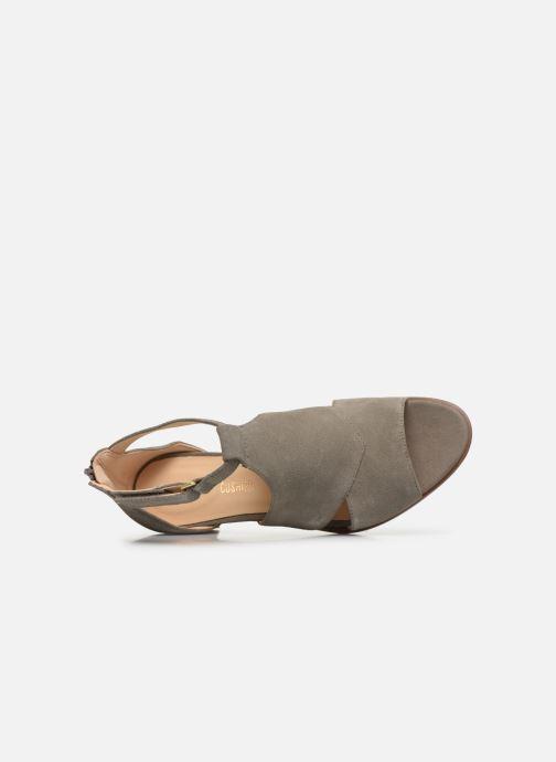 Sandales et nu-pieds Clarks Kaylin60 Glad Vert vue gauche